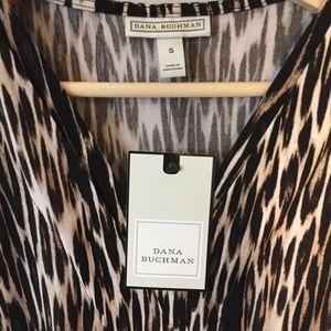 Dana Buchman Tops - Dana Buchman NWT Sleeveless Animal Print Top